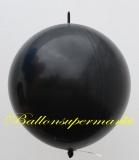 Großer Kettenballon, Schwarz