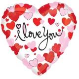 Luftballon, Liebe, I Love You, Equal Love, Herz, 5 Stück