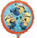 Luftballon, Folienballon, Minion, 45 cm, 10 Stück