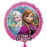 Folien-Luftballon Frozen Happy Birthday, Musikballon