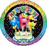 Folien-Luftballon Happy Birthday Concert, Musikballon