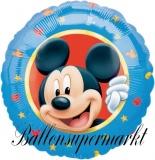 Luftballon, Folienballon, Mickey-Character, 45 cm, 10 Stück