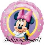 Luftballon, Folienballon, Minnie Character, 45 cm, 10 Stück