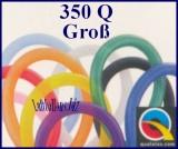 350Q Modellierballons, 7,5 x 130 cm, Groß, 100 Stück